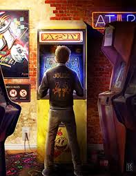 Ready Player One- Joust-Pac Man