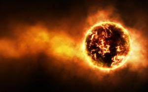 Sun Solar SystemSpace_Fire_planet_033638_